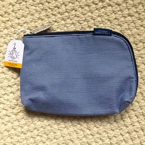 NWT L'Occitane cotton cosmetics bag